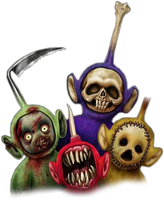 Teletubbies Render by IAMFX