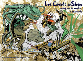 les carnets de steph color by stephgallaishob
