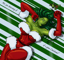 I'm dreaming of a green christmas by DeadDog2007