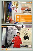 Nike Sneaker Web Mockup by Jonny-Rocket