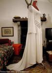 Medieval-fantasy bridal dress by Lluhnij