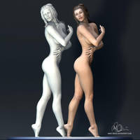 Elise - Character Study C4D 3D by mike-reiss