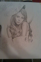 Laura Vandervoort angel by M0bstar-Th3-Fall3n