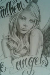 Laura Vandervoort angel close by M0bstar-Th3-Fall3n