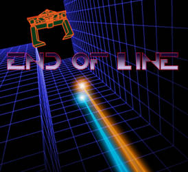 End of line...retro style Tron by M0bstar-Th3-Fall3n