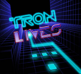 Tron Lives by M0bstar-Th3-Fall3n
