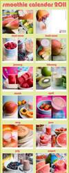 Smoothie Calendar 2012 by mnoo