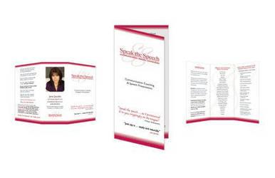 Speak the Speech Brochure by bdesignsolutions