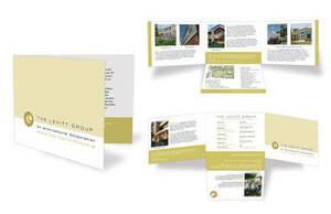 The Levitt Group Custom Brochure by bdesignsolutions