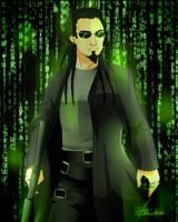 Matrix!Mahyar by Minouze