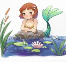 mermaid by ninehy