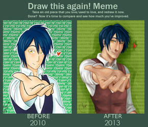 Draw this again meme by AngieBlues