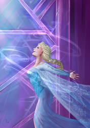 E is for Elsa by AngieBlues
