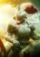 Fantasy Knight by Fatmarco