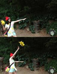 Pikachu z move! by fleurgranger