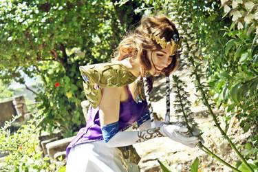 The princess enjoys her garden by fleurgranger