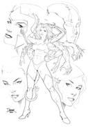Commission: Freak Girl LA by DaggerPoint