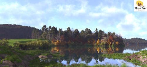Nordiske Lake by Massi-San