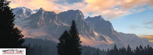 Alpine Plains 2016 Small by Massi-San