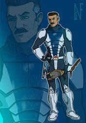 Lieutenant Stinky of the Grand Army ofthe Republic by Ryusukanku