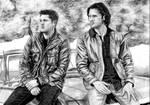 Dean and Sam by atlantiss505