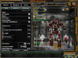 Privateer (Personel Config.) by mechwarrior7