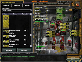 Privateer. (Personel config.) 2 by mechwarrior7