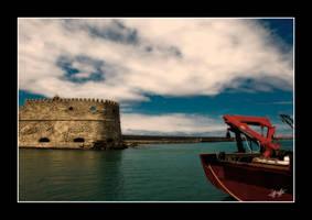 Koule Venetian Fort in Crete by etsap