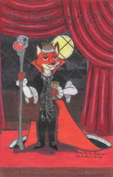 Nick Wilde as an Evil Vampire King by LuckyNumber113