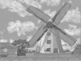 Art Academy: Windmill by LuckyNumber113