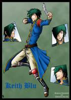 Keith Blu - My Colours by Ryu-Ka