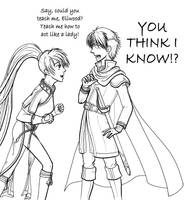 Teach Me How To Be a Lady by Ryu-Ka