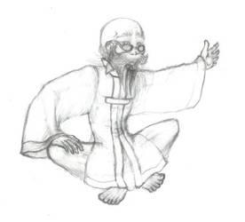 FFVII: Bugenhagen - Sketch by windinmysails