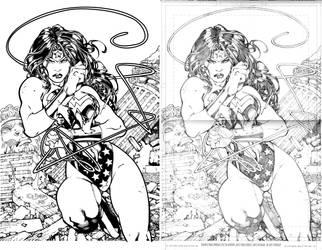 Wonder Woman by Ed Benes by dubbery
