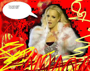 Britney Spears Wants a Fight! by nickyyckin