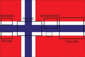 Origin of the Flag of Norway by nickyyckin