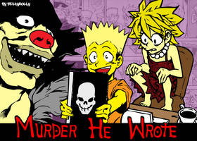 Death Note, Simpsons Style by BeckyHolly