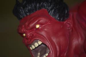 Red Hulk by EddieMW