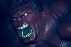 Red Fucking Hulk by EddieMW