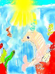 Ocean Floor by Rini-Dragoone