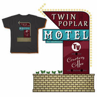 Tee - Motel by jugga-lizzle