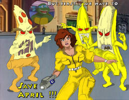 Save April O'Neil - in Color by oldmanwinters