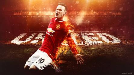 Wayne Rooney by ZA17
