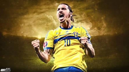 Zlatan Ibrahimovic by ZA17