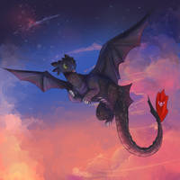 Toothless by jelllybears