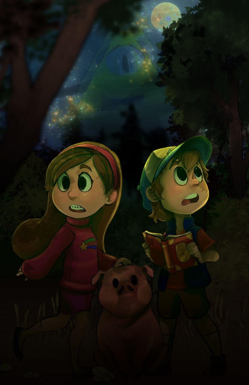 Gravity Falls by jelllybears