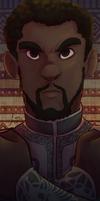Wakanda Forever Bookmark by jelllybears
