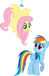 Not everyone can be brave like me Rainbow Dash. by Bernd01