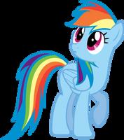 Rainbow Dash, Wat? by Bernd01