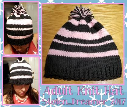 Custom Adult Knit Hat by Stolen-Dreamer